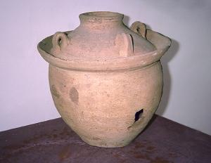 Museo Archeologico Nazionale di Cosa grande anfora glinarium per allevare i ghiri