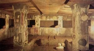 interno di una tomba
